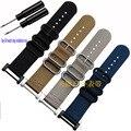 New For Suunto essential Core Watch Band 24MM Black Nato Nylon Strap+Adapters+Lugs+Tools For Suunto Core