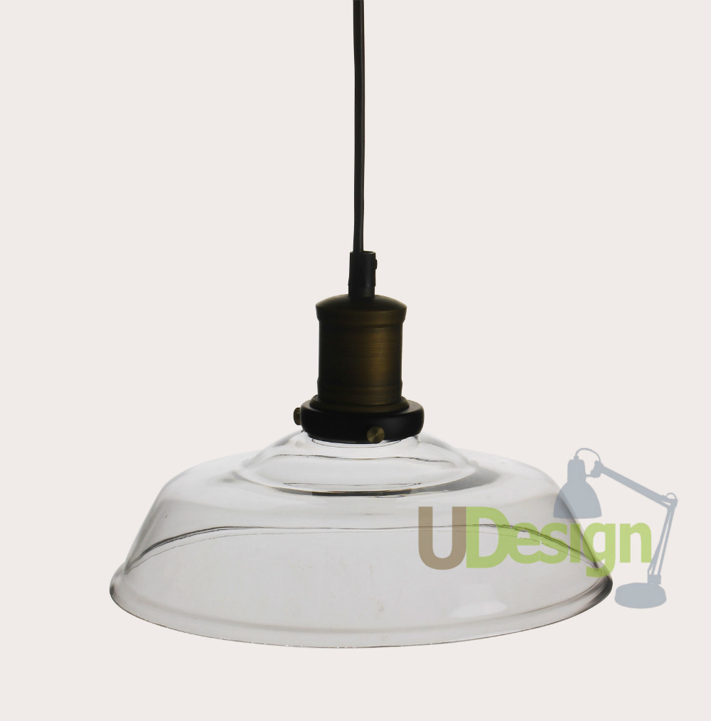 Ceiling Lamp Installation Cost: Repica Industrial Loft Vintage Ceiling Lamp 6015S Glass