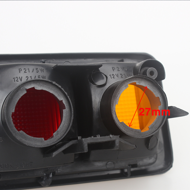 Купить левый и правый хвост светильник задний бампер отражатель для картинки цена