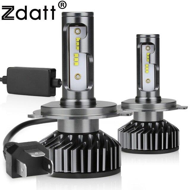 Zdatt H7 LED H4 H11 H8 H1 HB3 9005 9006 H9 Canbus Koplamp Lamp Car Light 10000LM 100 W 6000 K 12 V 24 V Auto HB4 Lamp