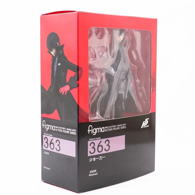 Anime Persona 5 Joker Figma 363 PVC BJD Action Figure Model Gift Toys