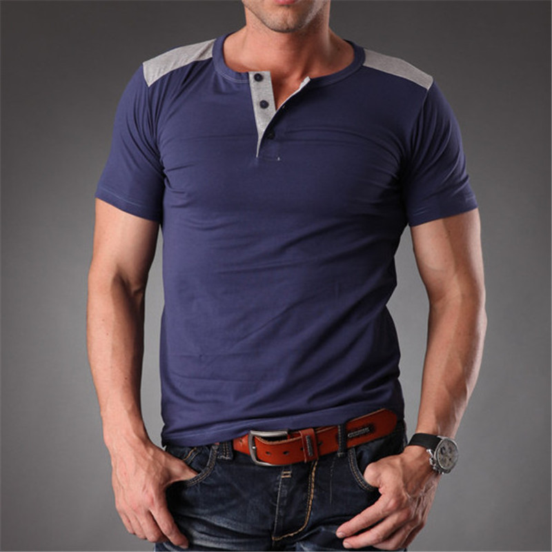 Azel Stretchy Plain Blank Colors T Shirt Man High Quality