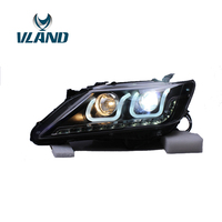 VLAND фабрика для автомобиля головная лампа для Camry светодиодный фар Бар 2012 2013 2014 Camry головного света с DRL H7 Xenon Plug And Play