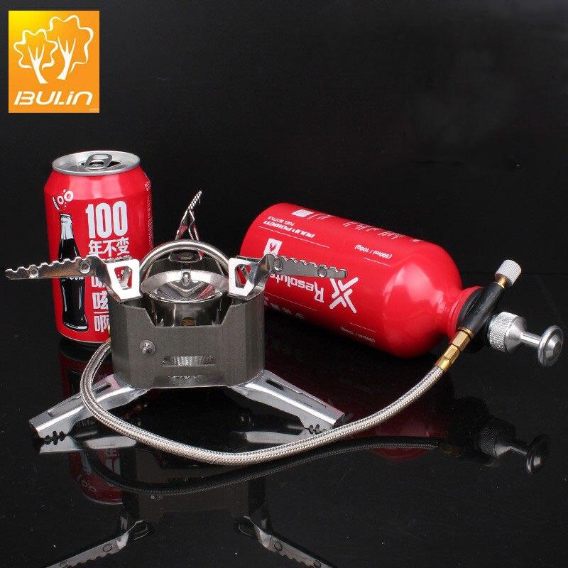 BULIN BL100-T3 Multi Huile portable adaptateur de gaz de camping en plein air cuisinière à gaz de pique-nique poêle domaine gasbrander trois modèles en option