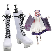 Anime Vocaloid Senbon Zakura LUKA Cosplay Shoes Boots