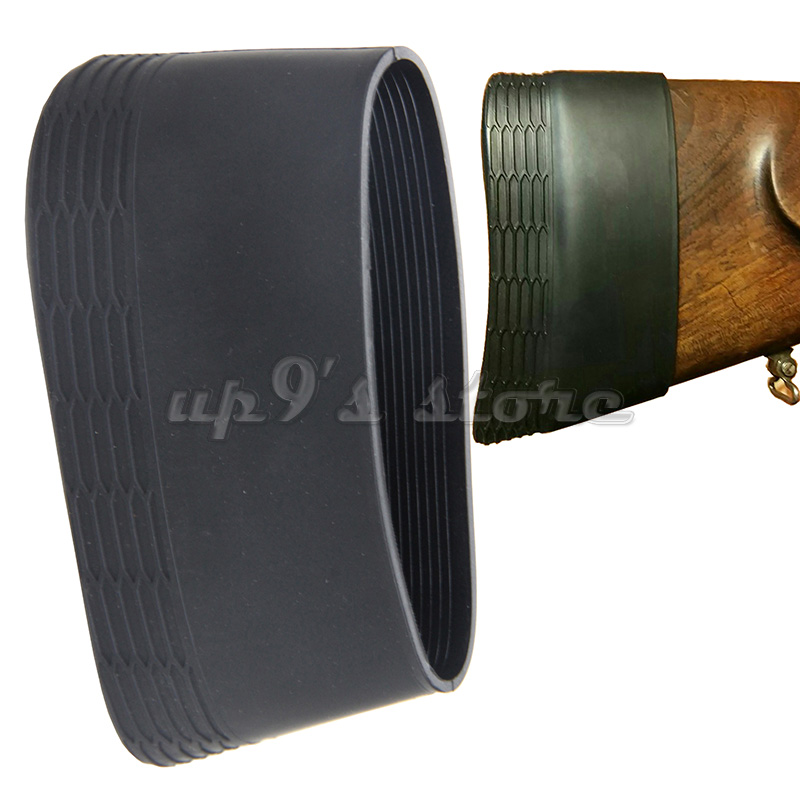 Hunting Silicone Rubber Slip-on Rifle Shot gun Recoil Butt Pad Buttpad