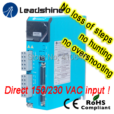 цены Genuine Leadshine Easy Servo Drive HBS2206 Direct 220 and 230 VAC Input, and 6.0A Current Free shipping