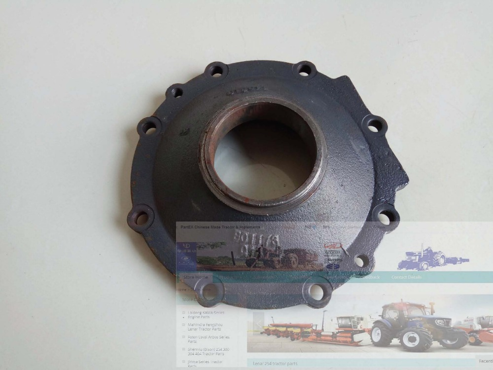 big end cover for Foton Lovol FT254 tractor FT254.31F.109C|cover covers|parts tractor|cover big - title=