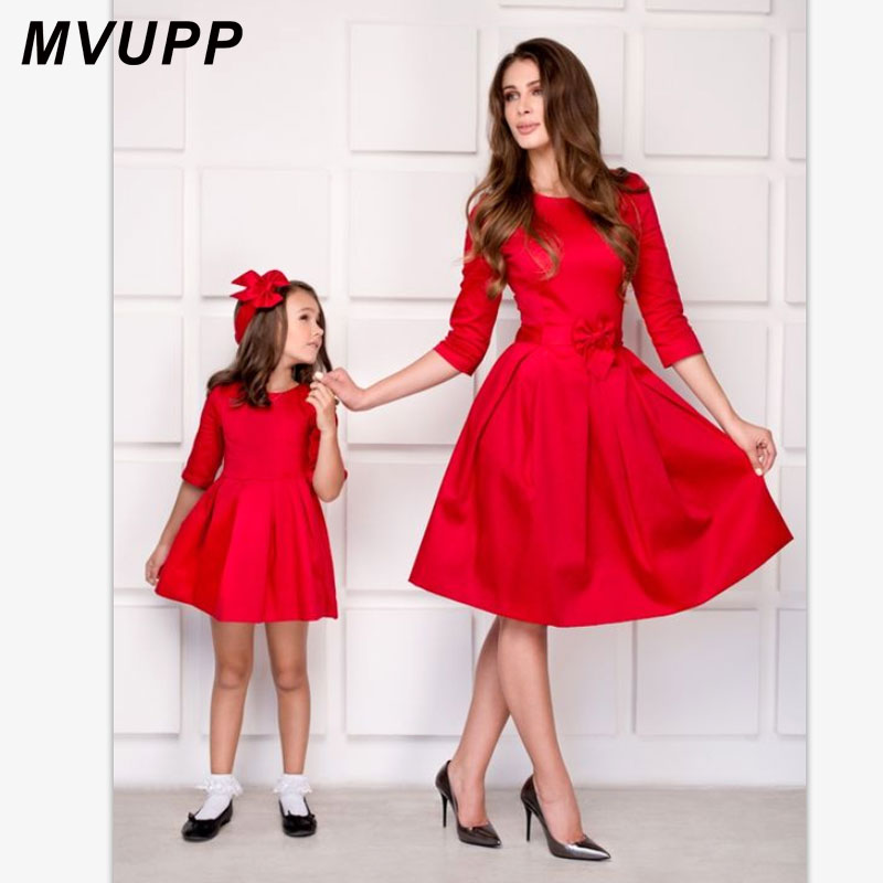 e87a7214a MVUPP Family Matching Outfits Mommy And Me Baby Girl Clothes Autumn ...