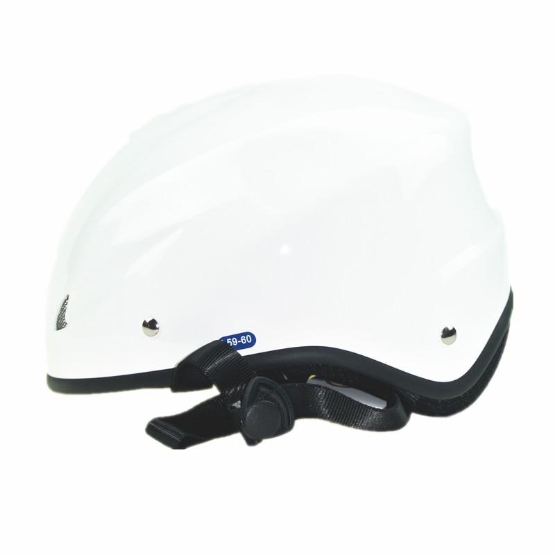Casque de parapente d'été standard EN966 casque de parapente superlight demi-visage