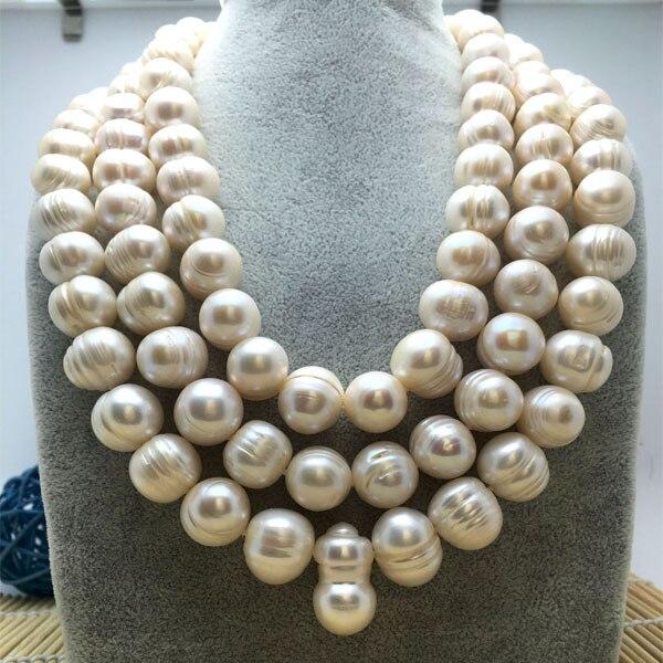 ac699810b8ac Detalle Comentarios Preguntas sobre 108 cuando las cuentas 13 14mm perla  natural suéter cadena larga collar barroco genuino heterosexual en  Aliexpress.com ...