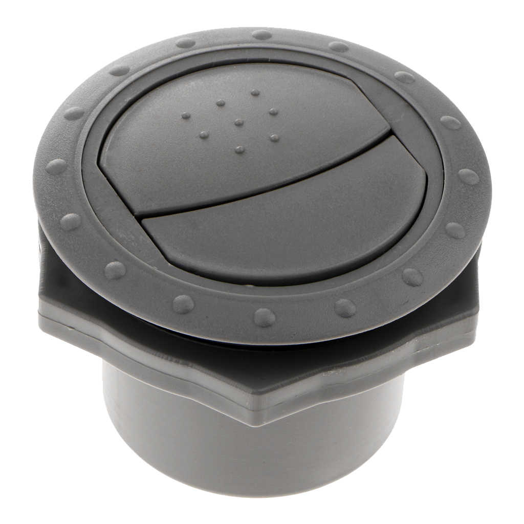 rv motorhome roof vent exhaust air flow vent plastic interior grey 60mm rv trailer camper round air vent durable abs plastic