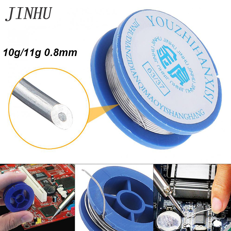 Welding Wire 10g/11g 0.8mm Solder Wire 63/37 Solder With Flux For Aluminum Soldering Lead Free Solder