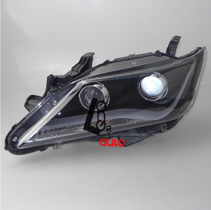 Headlight with Angel Eye and Bi-Xenon Projector For Toyota Camry V3  2012 the undomestic goddess