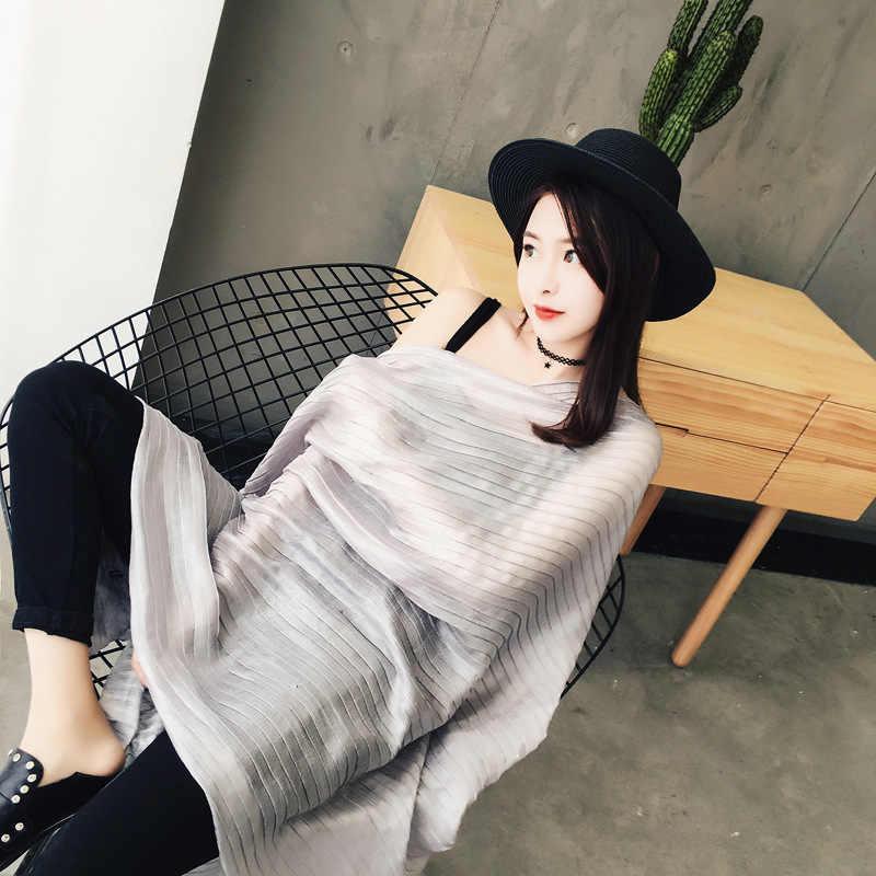 [DANKEYISI] 2017 Nova Primavera Outono Moda Mulher Cachecol Xale bandana Lenços Mulheres Marca de Luxo de Alta Qualidade de Cor Sólida Cachecol