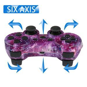 Image 5 - Bevigilac controle duplo bluetooth wireless, console de jogo, joystick para sony playstation ps 2 3 ps3 ps2 acessórios