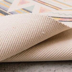 Image 5 - 60x180cm רטרו שטיחים לבית סלון רך ציצית בית שטיחים שולחן רץ דלת מחצלת עיצוב הבית