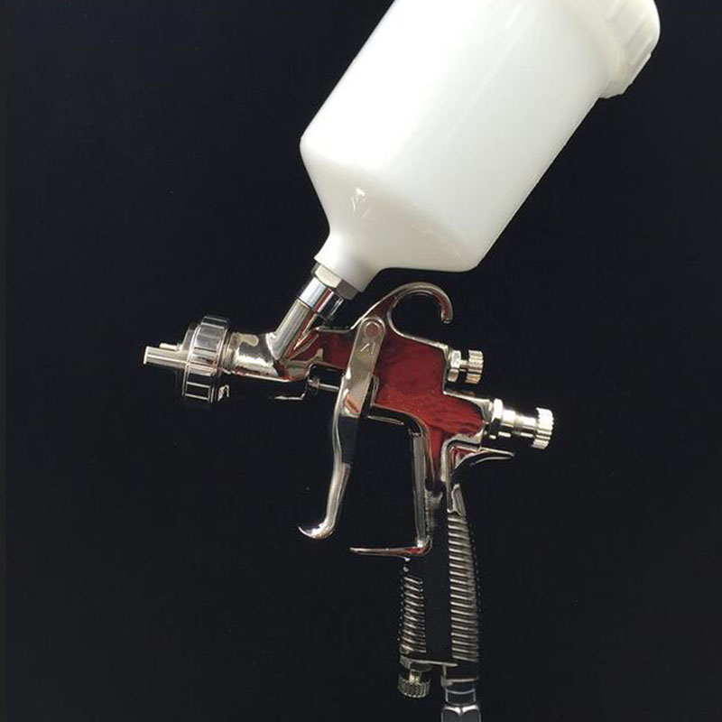 SAT0084 free shipping automotive paint gun portable paint sprayer automatic spray gun air compressor spray gun