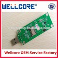 2016 Mini PCI to USB Adapter Card With SIM Card Slot,free shipping!