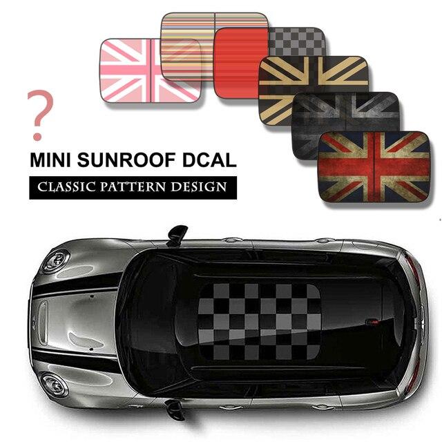 Mini Sun Roof Decal Stickers For Mini Cooper Clubman Countryman