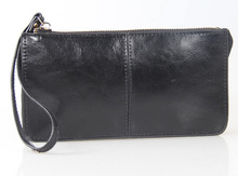 Genuine Leather Wristlet