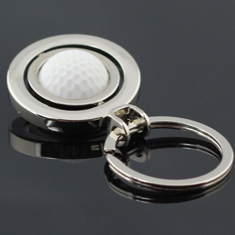 golf keychain key ring high qualty sleutelhanger chaveiro innovative portachiavi llaveros hombre christmas gift free shipping