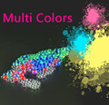 1200 unids Colores Multi de Cristal Del Suelo de Barro de Agua Perlas de Gel Bio bola De Flores Weeding Decoración de Bolas de Juguete pistola de Bala Envío gratis