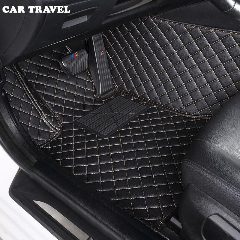 Custom car floor mats for Ford escort fiesta mondeo Focus Fiesta Edge Explorer Taurus S MAX