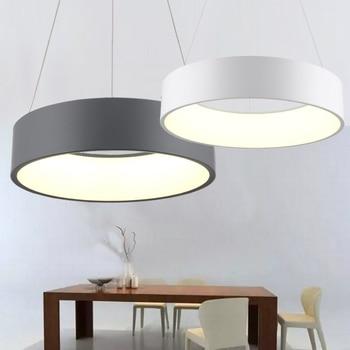 600mm 36 Watt Moderne mode kreis hängen lampe esszimmer ...