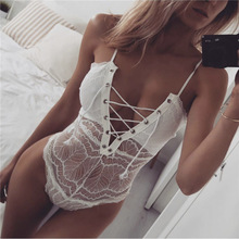 Black Lace Plus Size Sexy Lingerie For Women Erotic Lingerie Sexy Lenceria Mujer Sexi clothes Teddy Babydoll Underwear Clubwear