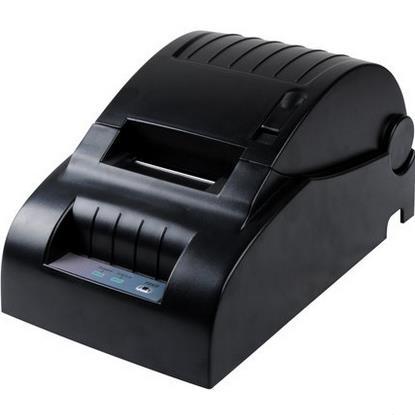2016 Nueva original Xprinter XP-58III 58mm impresora de la posición de interfaz de puerto paralelo USB Pequeño billete recibo impresoras de códigos de barras