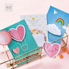 30 листов/lot творческий Lollipop любовь облако Тетрадь самоклеящиеся Блокнот Заметок Post-It Закладки Школа Офис поставка