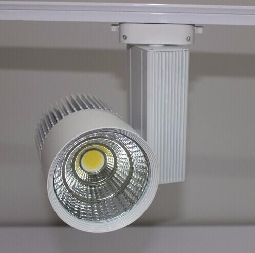 CE RoHS Saving Energy COB Led Track Rail Light 30W Spot Wall Lamp - Pencahayaan LED - Foto 4