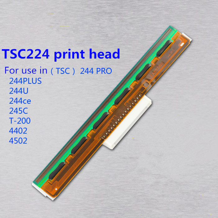 High Quality New Thermal Printer Head Printhead Compatible For TSC TTP-244 plus 244U 244ce T-200e Barcode printer Print head zonerich thermal printer head b 58gk 58mk ecr800 1200 1000af 2000af pos machine compatible ftp 628mcl101 sii z245m printhead
