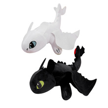 Two style Dragon 3 35cm Toothless light Fury Toys Anime Figure Night Plush Doll For Children