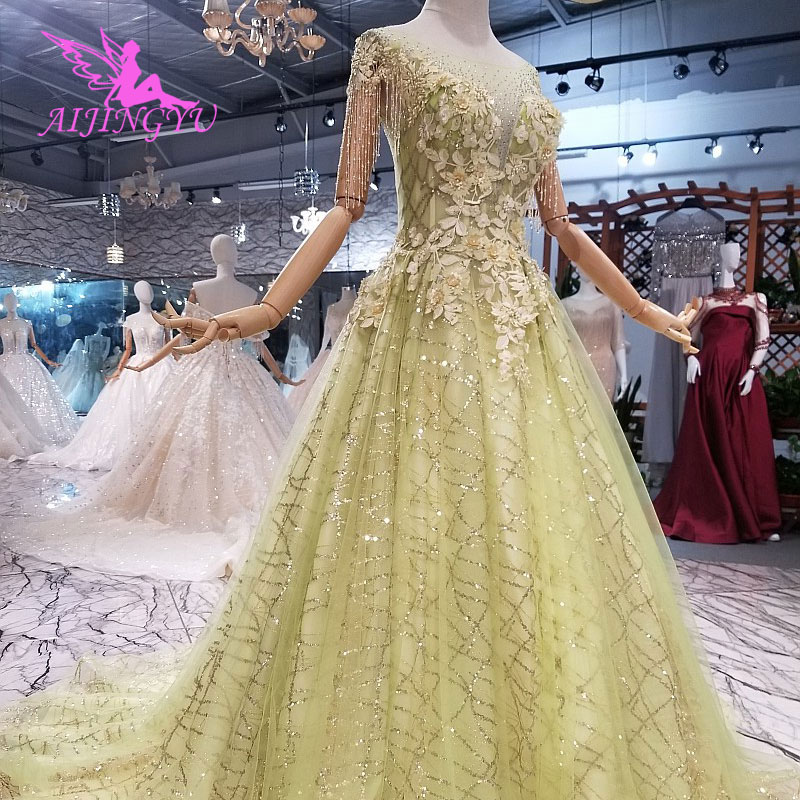AIJINGYU New Long Sleeve Wedding Dress