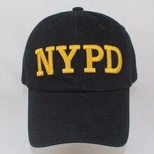 6a3a688427d8c Al por mayor al por menor de ocio NYPD bordado gorra de béisbol Snapback  sombreros para hombres mujeres 100% algodón suave y cas.