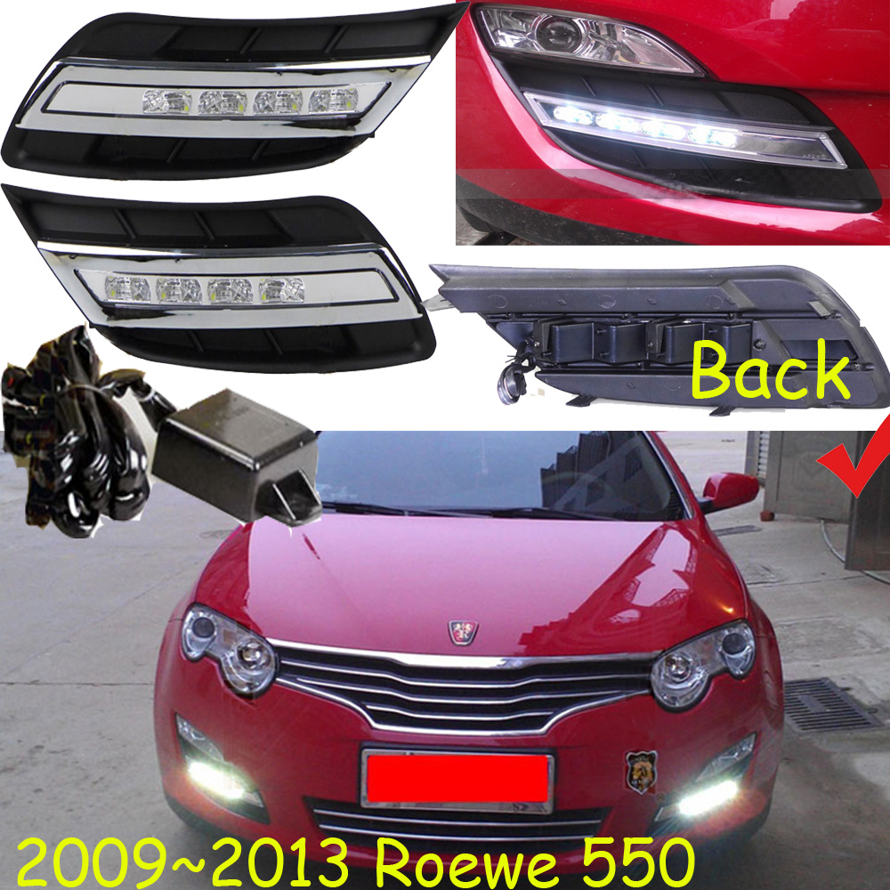 2009~2013year for Roewe 550 daytime light car accessories LED DRL headlight for Roewe 550 fog light