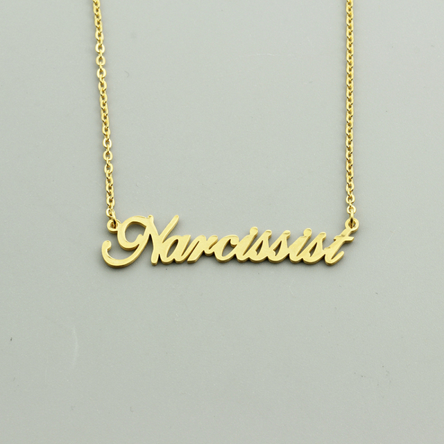 Rosa di Colore Oro Argento Nome Personalizzato su misura Pendente Della Collana Personalizzato Corsivo Targhetta Collana Regalo di Compleanno A Mano