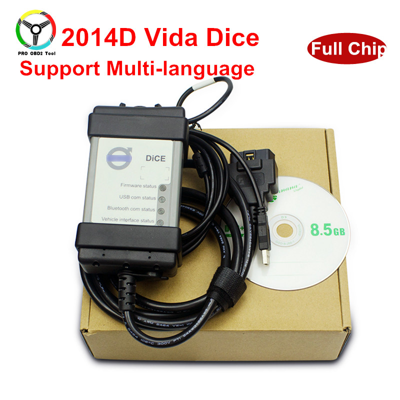 Selling Full Chip For Volvo Vida Dice 2014D Diagnostic Tool Multi-Language For Volvo Dice Pro Vida Dice With Green Board