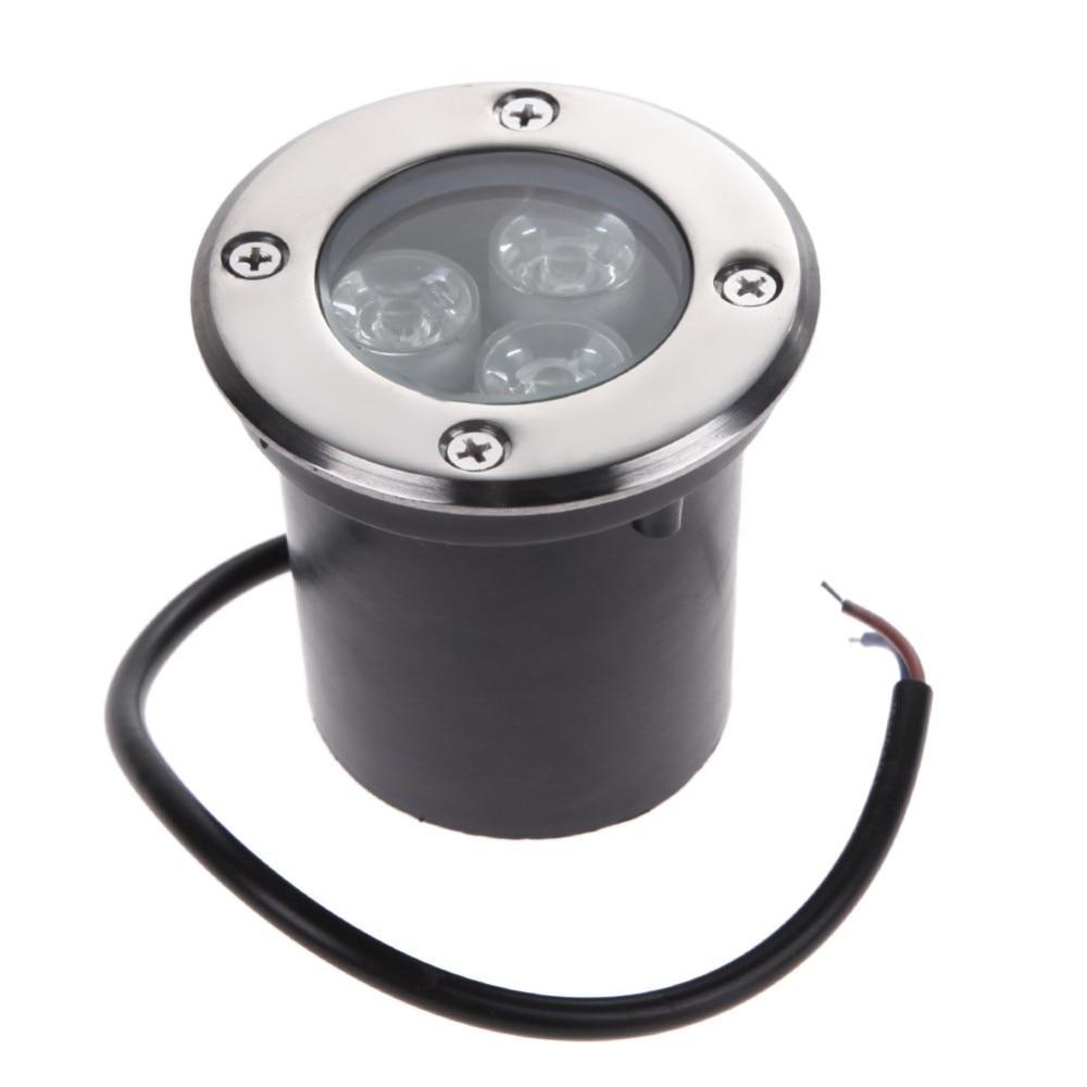 COB LED Buried Lights Warm White Light Underground Lamp Waterproof Indoor Outdoor Garden Path Floor Yard Spot Lamps