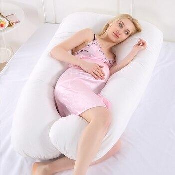 70*130 см для беременных женщин U форма постельные принадлежности Подушка беременность сторона спальная Подушка полное тело Материнство спал...
