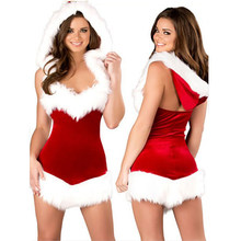 d8b1431721732 2018 Fashion Adults Women Slim Fit Sexy Christmas Suit Costumes Adult women  Santa Claus Cosplay Christmas Party Fancy Dress z15