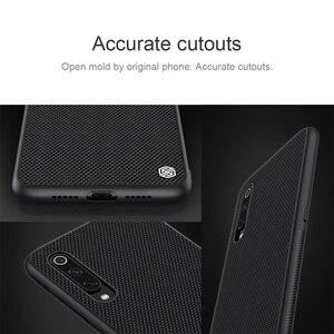 Image 2 - Case for Xiaomi Mi 9 NILLKIN Textured Nylon fiber case durable non slip Thin and light back cover For Xiaomi Mi9 Explorer Cover