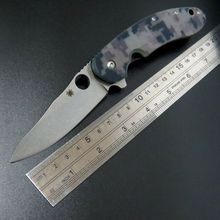 High quality Efeng C156 Spyder  Knife CTS-204P Blade G10 Titanizing Steel Handle Camping Hunting  Pocket Tactical Knives