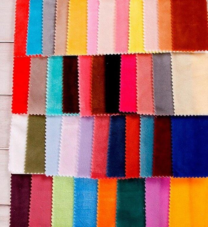 Tissu cristal velours polyester fourrure courte en peluche pour couture à la main matériel couture bricolage artisanat housse de couette loisirs porter 1