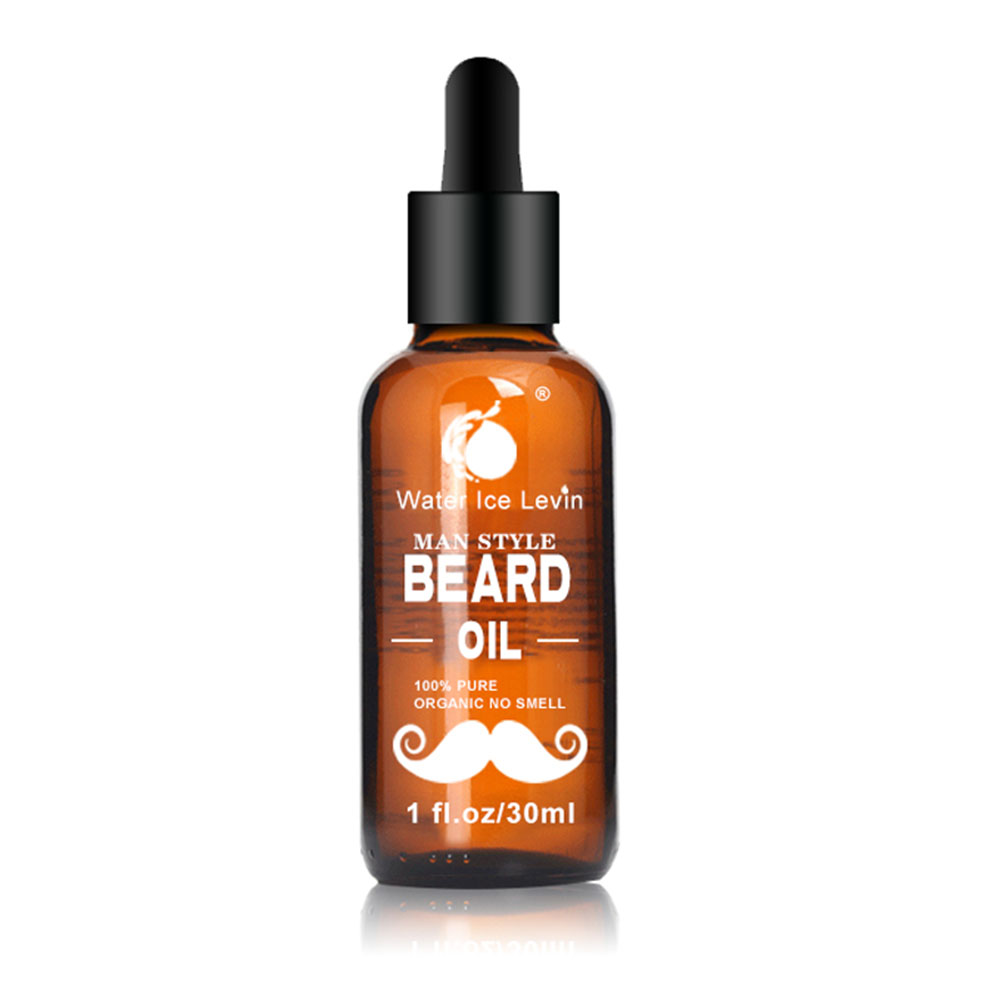 30ml Men Beard Oil for Styling Smoothing Mustache Growth Care Conditioner Softener Facial Grooming Gentle Men Beard Beauty Care 3