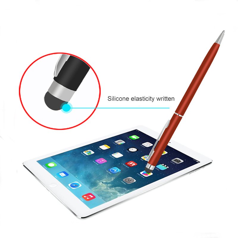 Universal Double Head Stylus Pen Capacitive Touch Pen For IOS Android Tablet