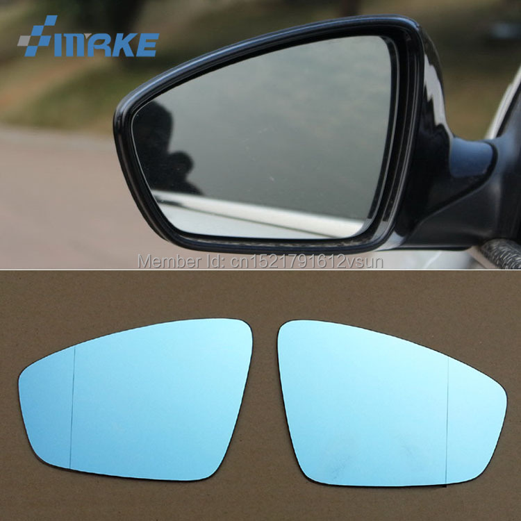 Volkswagen Cabrio Rearview Mirror Rearview Mirror For: SmRKE 2Pcs For Volkswagen Jetta Rearview Mirror Blue