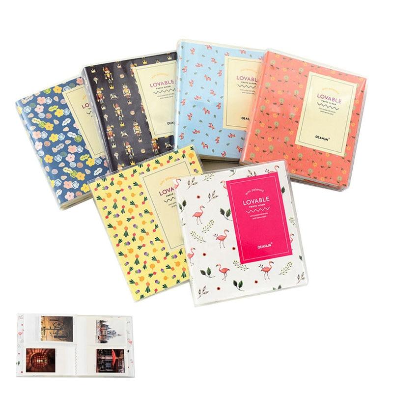 все цены на 64 Pockets 3 Inch Fujifilm Instax Mini Films Instant Mini 9 8 7s 70 25 50s 90 Name Card Holder Photo Book Album онлайн